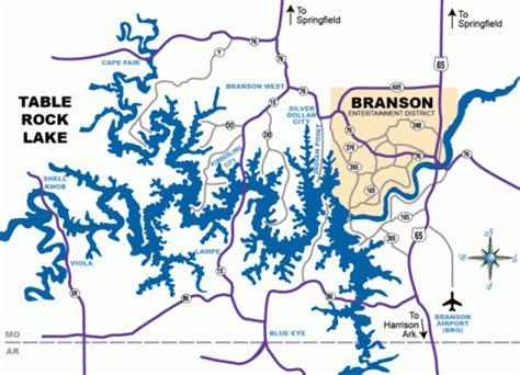branson mo map branson maps explorebranson