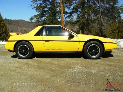 1988 Pontiac Fiero Formula For Sale by Pontiac Fiero Formula
