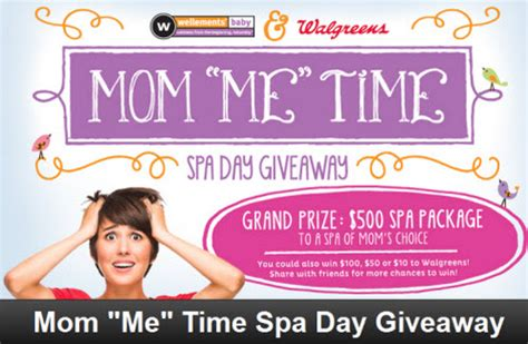 Baby Sweepstakes And Giveaways - wellements baby 500 spa day giveaway