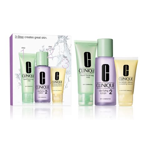 Clinique 3 Step clinique 3 step introduction kit for combination skin