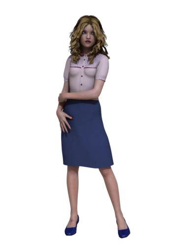 genesis pencil skirt blouse daz 3d forums