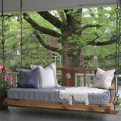 swinging porch beds best 25 hanging porch bed ideas on pinterest porch bed