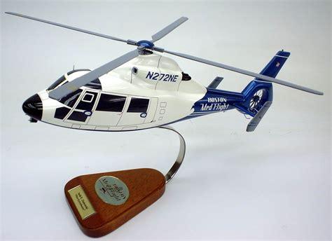 Handmade Helicopter Models - dauphin boston medflight helicopter model