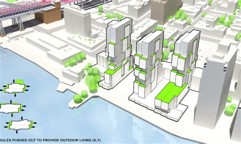layout and density of building oda s jenga like towers turn almost all its units into