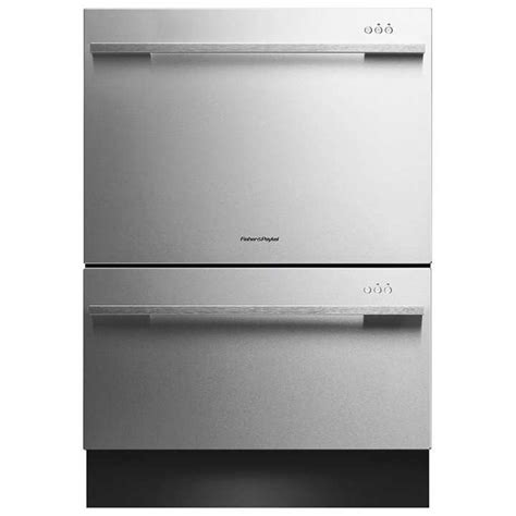 Fisher Paykel 2 Drawer Dishwasher by Shop Fisher Paykel 53 Decibel 2 Drawer Dishwasher Energy