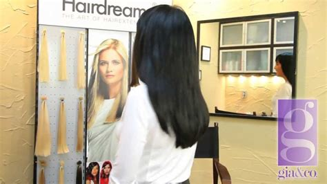 surprise extreme salon makeover extreme hair extension makeover by gia co salon youtube