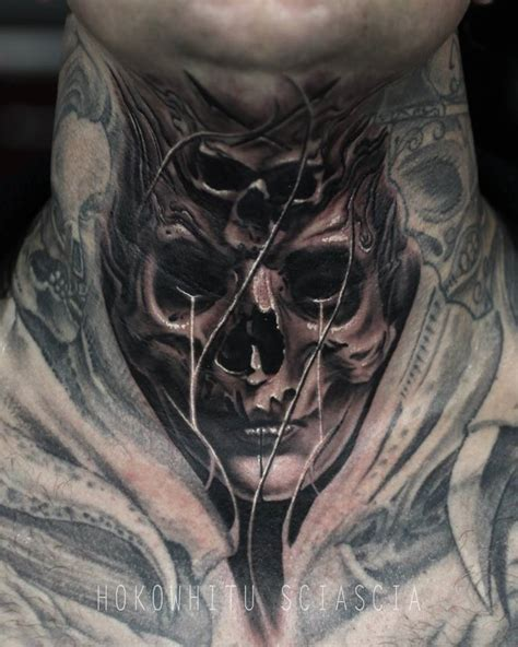 melting skull tattoo tattoo collections