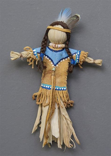 picture of a corn husk doll archives antique lilac