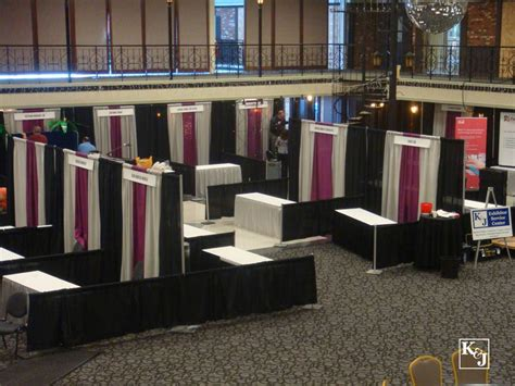 expo pipe and drape k j convention services exhibit service contractors pipe