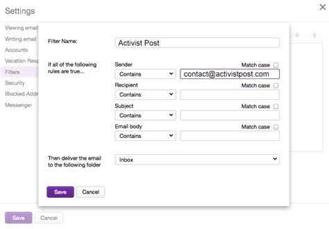 Yahoo Email Whitelist | whitelist activist post activist post
