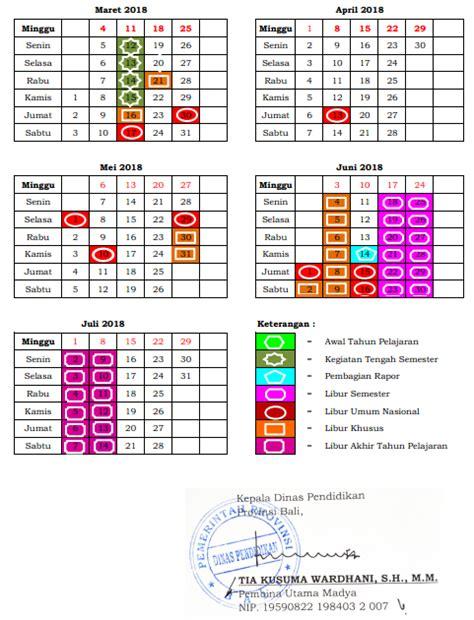 kalender bali tahun 2018 28 images kalender pendidikan