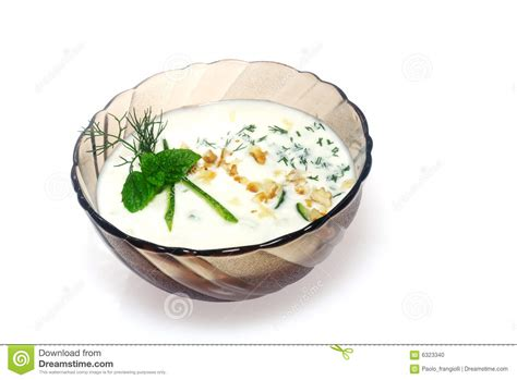 cuisine bulgare cuisine bulgare tarator photo stock image 6323340