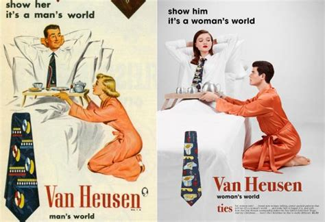 gender role reversal in ads reversing gender roles courting family a photographer flipped gender roles in vintage ad