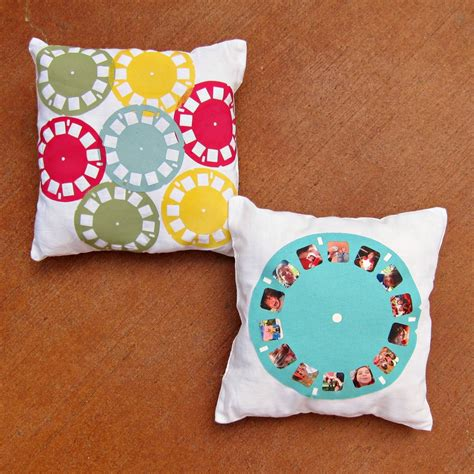Make Pillows by How To Make A Pillow With A Personalized Viewfinder