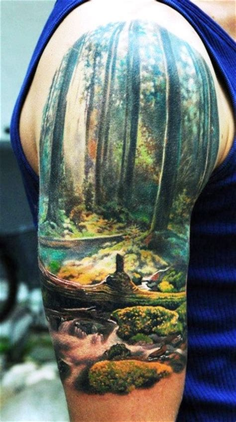 wonderful colored tattoos  fashionistas pretty designs