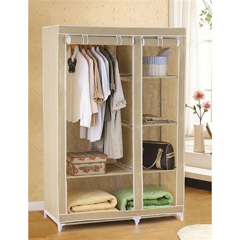 Portable Wardrobes by Cbeeso Portable Wardrobe Cb260 Rolling Up Design In Beige