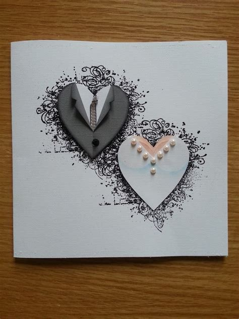 Handcrafted Wedding - handmade cards for anniversary weneedfun