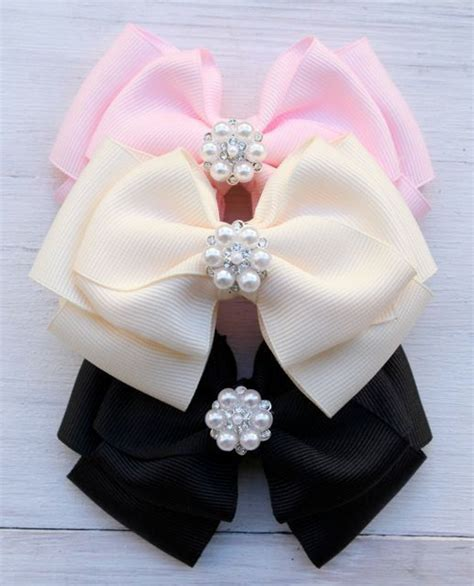 Handmade Hair Bows - 25 best ideas about handmade hair accessories on