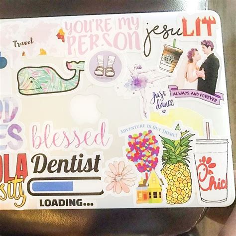 Redbubble Laptop Stickers