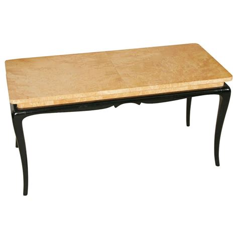 Maple Coffee Tables A Birds Eye Maple Burr Coffee Table On Ebonised Base At 1stdibs