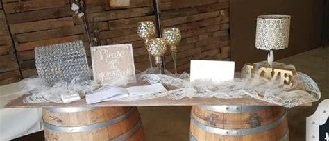 Event Decor Welcome Table Slider Rental Rentals