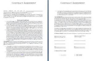 interesting rental agreement template example with blank