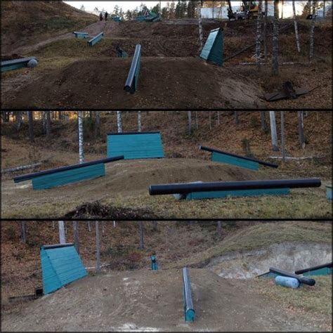 snowboard rails for backyard backyard park finland the best diy snow parks