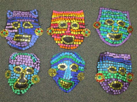 new year mask lesson 570 best images about project on