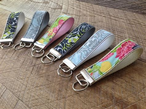 pattern for fabric keychains fabric key chain tutorial