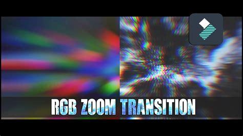filmora tutorial youtube filmora tutorial rgb zoom transition effect youtube