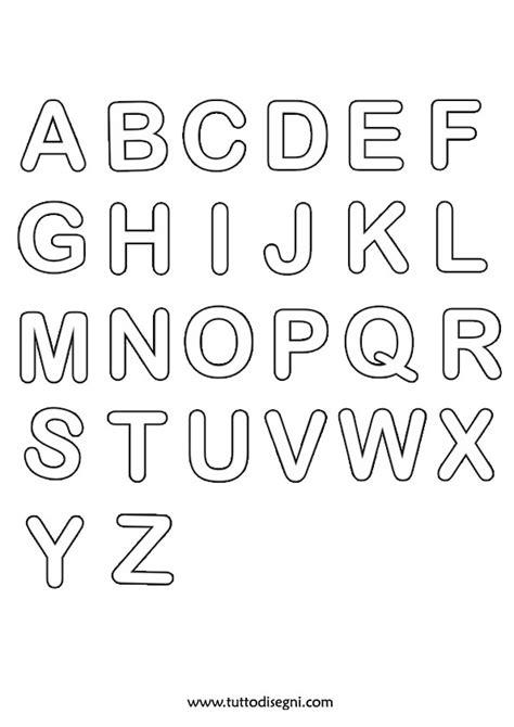lettere bambini alfabeto da colorare per bambini tuttodisegni