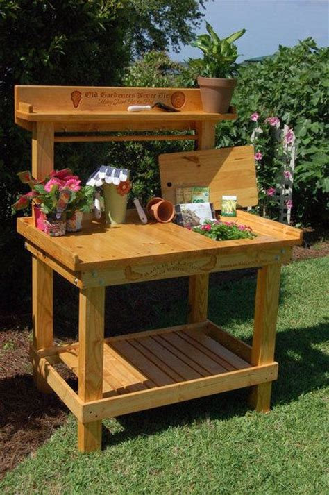 gardening work benches 52 best images about garden work bench on pinterest
