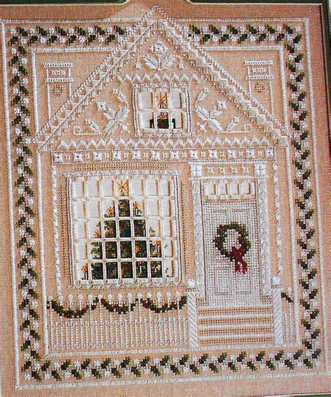 andrle house sler 3d picture counted cross stitch hardanger pattern