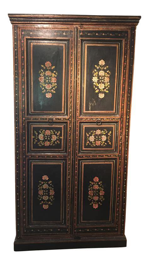 swedish armoire antique swedish armoire cabinet chairish