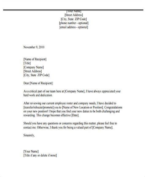 sle of formal confirmation letter letter from company 6 leave letter format for company