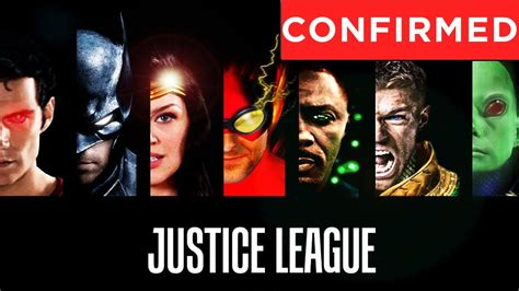 film justice league cast image gallery jla movie cast
