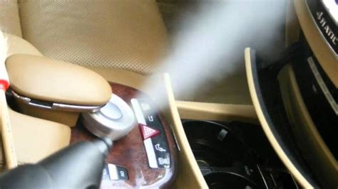 Steaming Car Interior by Mobile Car Wash And Detailing Industry Earth Car Wash