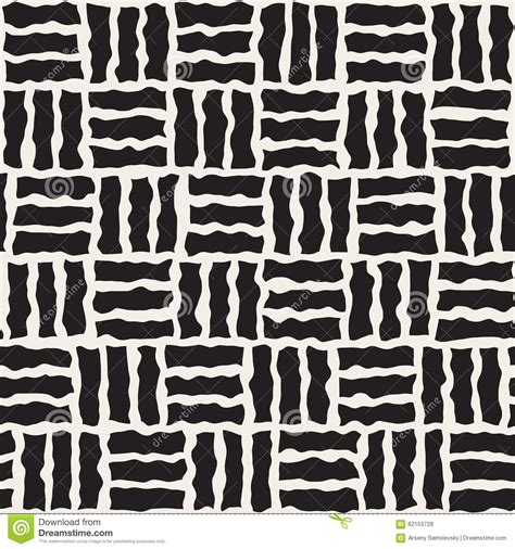 vector pattern rough vector seamless black and white rough hand painted