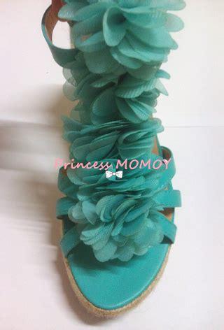 Wedges Pink Bunga yah kasut dari agape lagi princess momoy