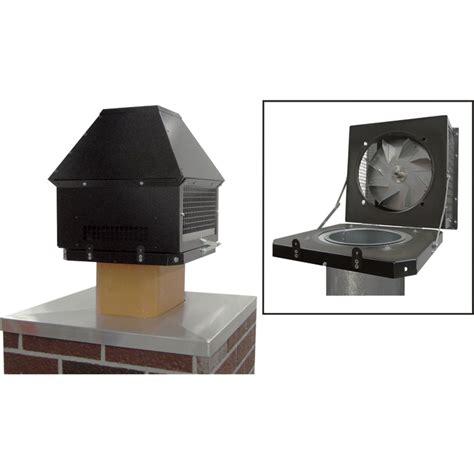 tjernlund fireplace chimney fan model rt750h venting