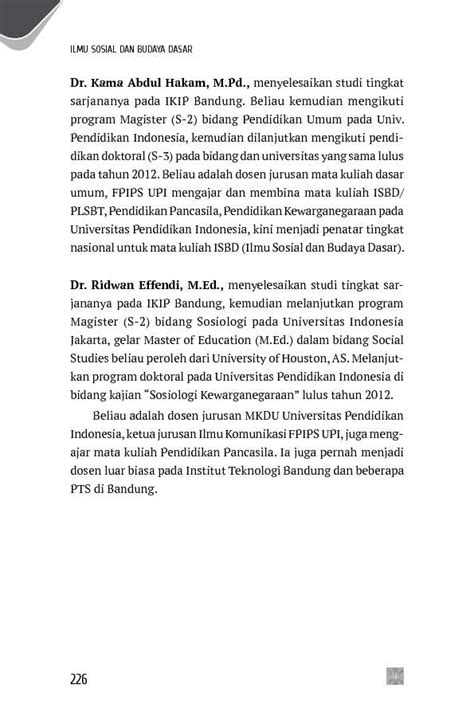Buku Ilmu Sosial Budaya Dasar 3 jual buku ilmu sosial dan budaya dasar oleh dra elly m
