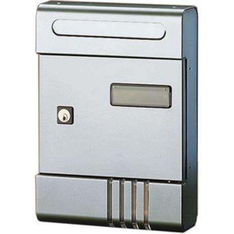 cassetta posta cassetta posta alluminio argento per esterni se from