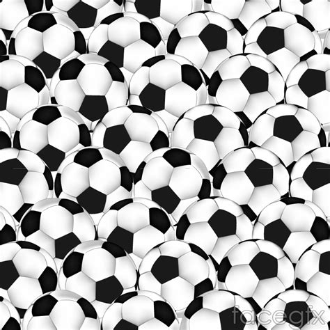 black and white balls black and white soccer background vector free
