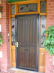 Securing Windows Inspiration Front Doors Inspiration Hindmarsh Fencing Wrought Iron Security Doors Australia Hipages