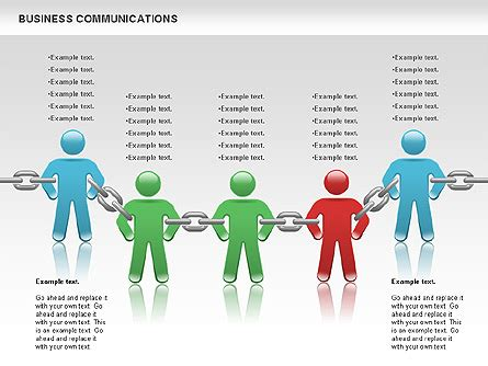 communication chain for powerpoint presentations download
