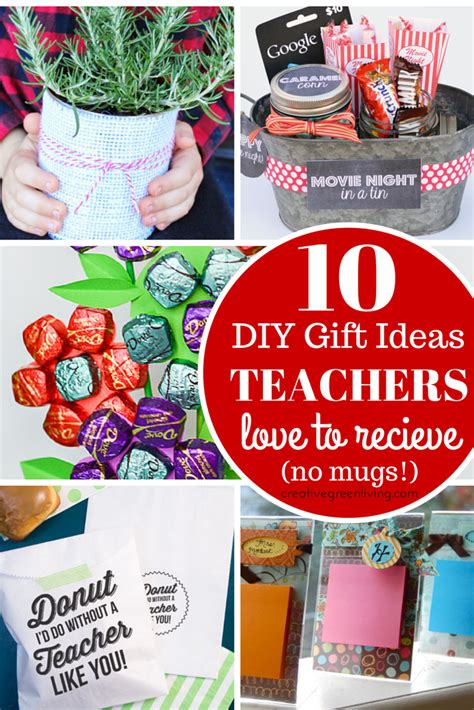 Clever Gift Ideas - 10 clever diy gift ideas for teachers no mugs allowed