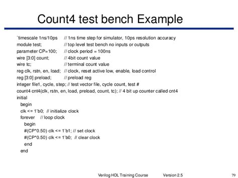test bench definition bench test definition verilog hdl training course