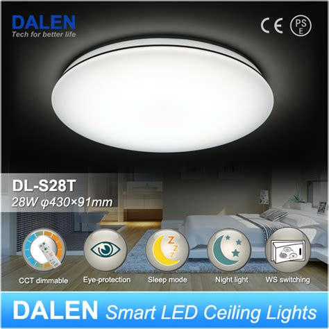 How To Design Home Lighting 25 28w remote control series dalen smart led ceiling lights