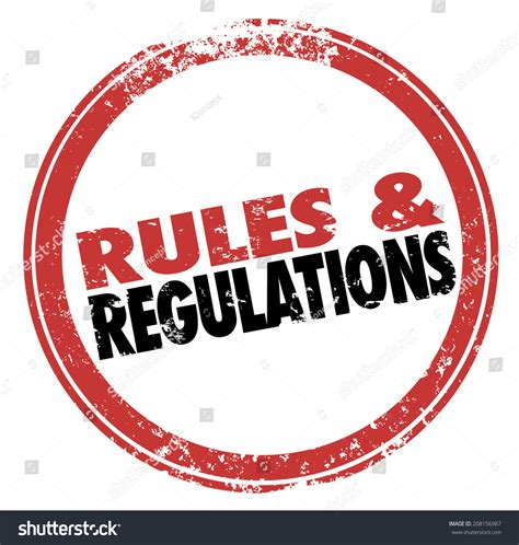 and regulations regulations words st illustrating stock