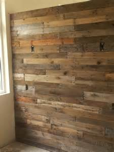 Wood Wall Treatments Wood Iron Studio Spa Treatment With Recycled Wood
